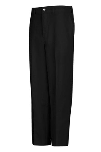 Men's Black Cook Pant With Zipper Fly