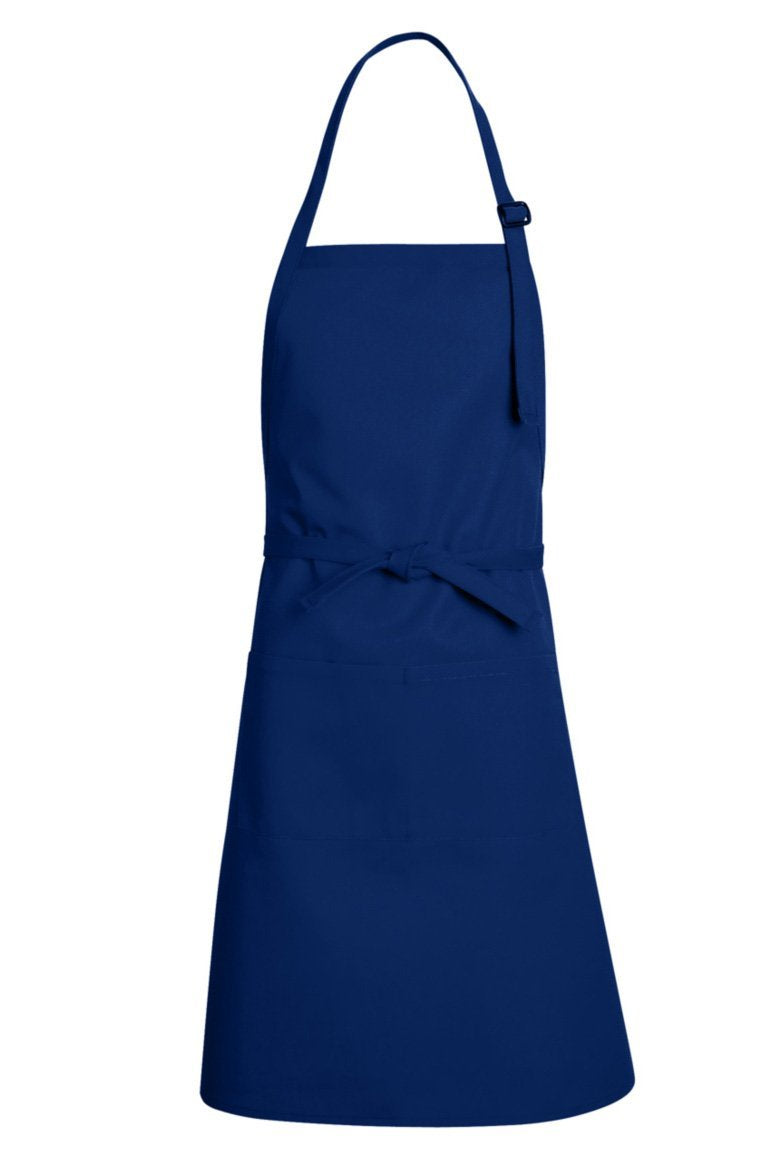 Royal Blue Premium Adjustable Apron (1 Split Pocket)