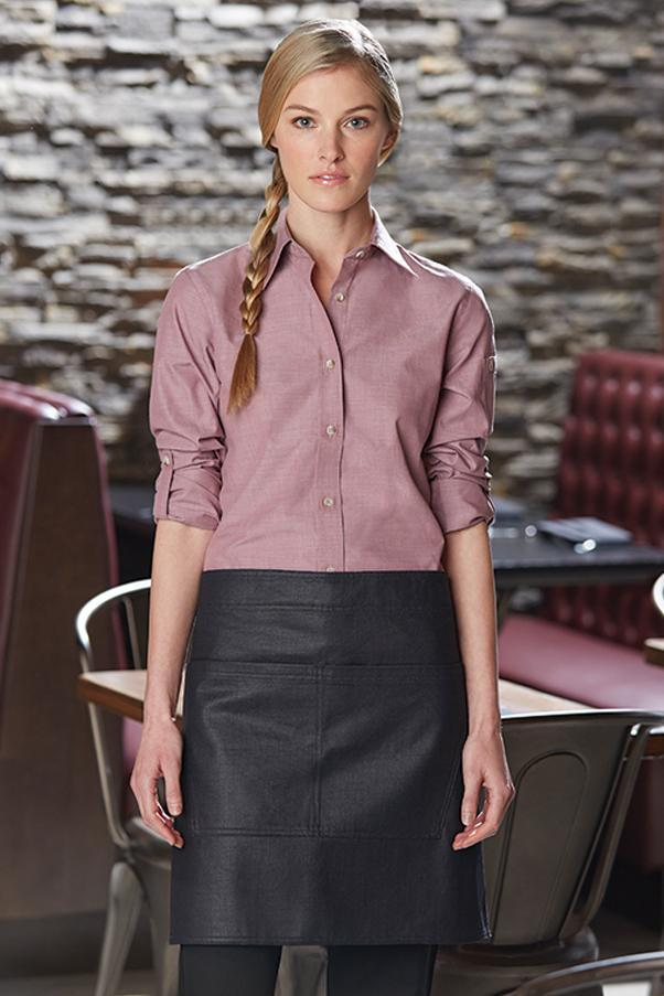 Black & Brown Boulder Half Bistro Apron