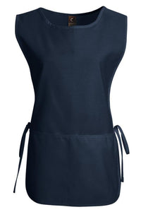 Navy Cobbler Apron (1 Split Pocket)