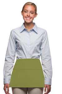 Sage Deluxe Waist Apron (3 Pockets)