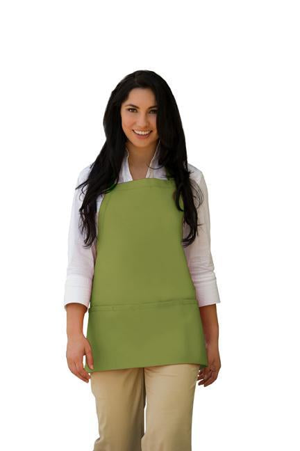 Sage Deluxe Bib Adjustable Apron (3 Pockets)