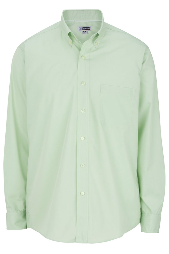 Men's Cucumber Lightweight Long Sleeve Poplin Shirt
