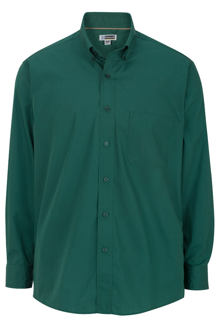 Men's Hunter Lightweight Long Sleeve Poplin Shirt