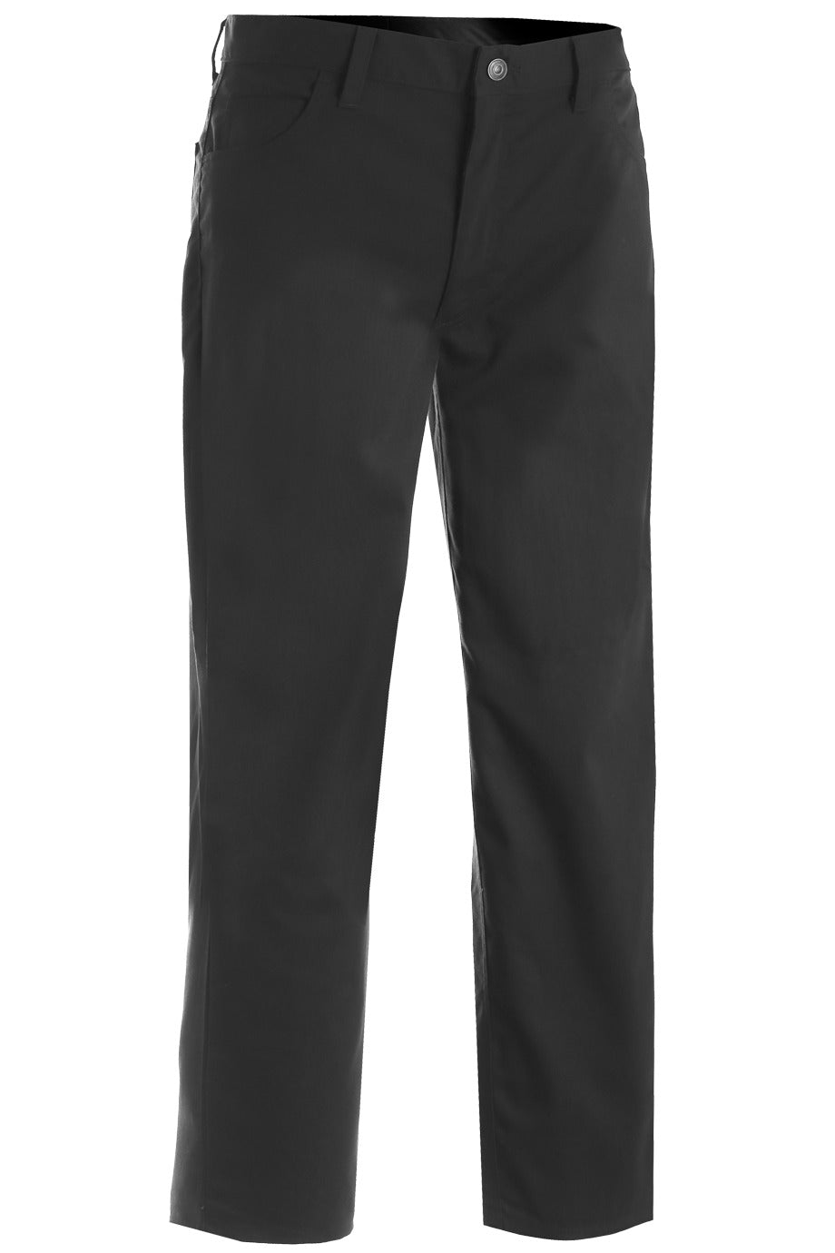 Men's Black Rugged Comfort Flat Front Pant