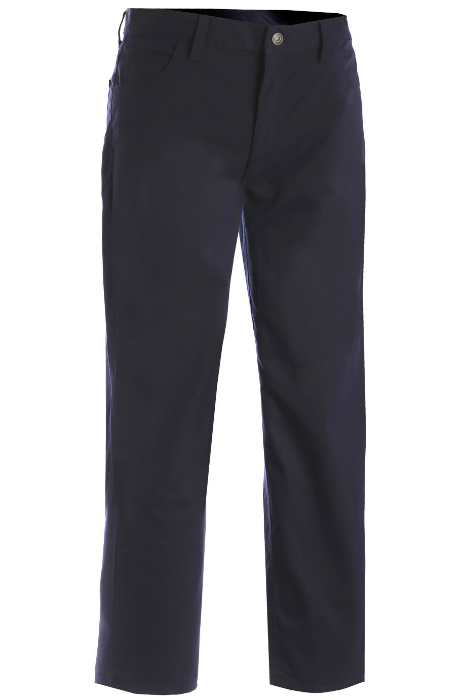 Men's Navy Rugged Comfort Flat Front Pant