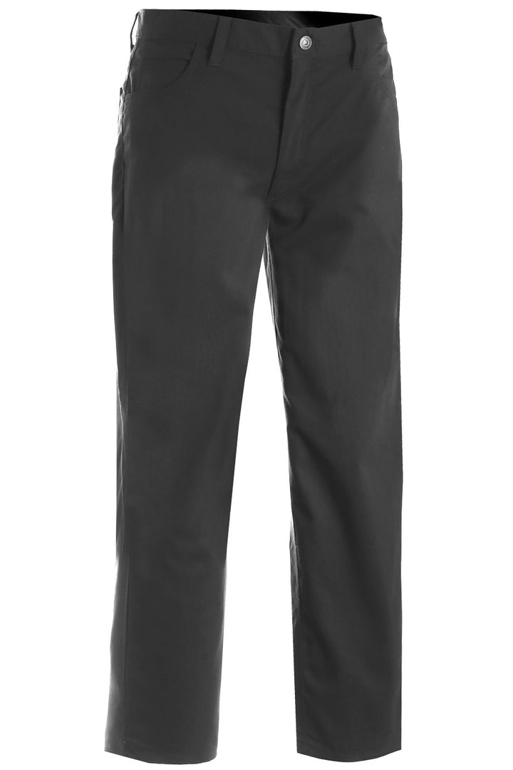 Men's Steel Grey Rugged Comfort Flat Front Pant