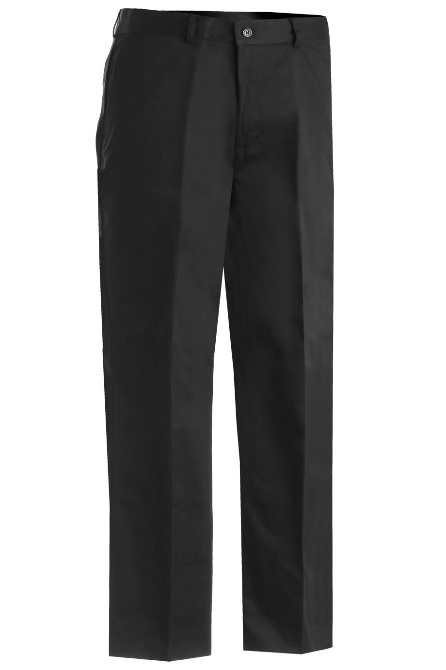 Men's Black Utility Flat Front Chino Pant