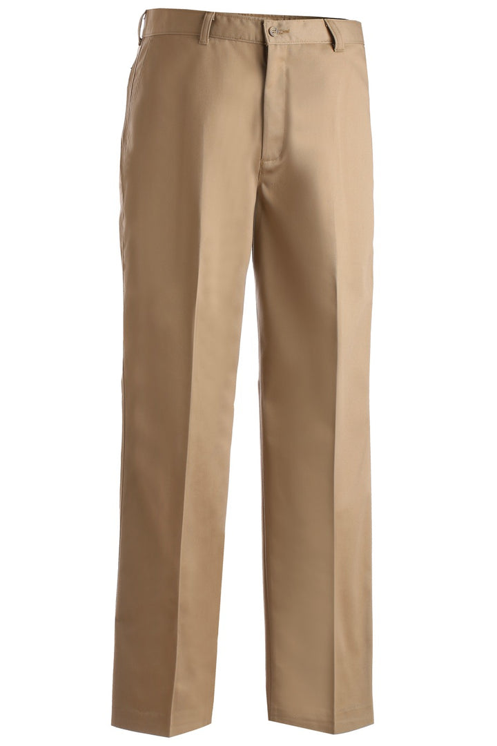Men's Tan Utility Flat Front Chino Pant