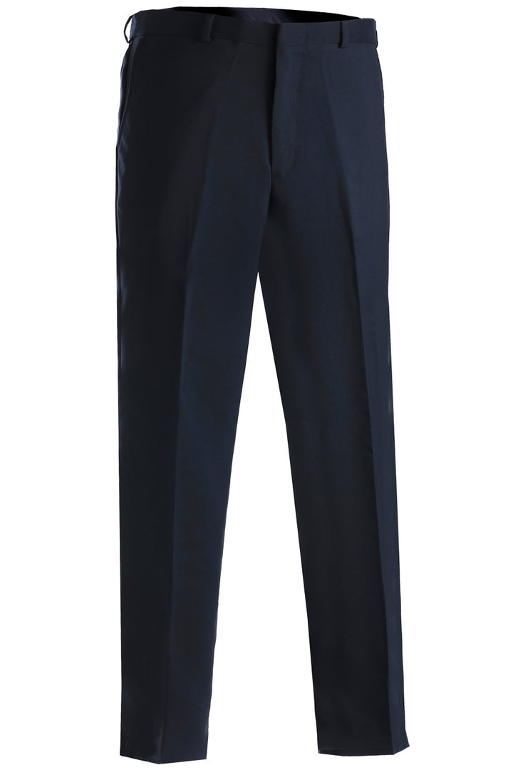 Men's Dark Navy Flat Front Security Pant