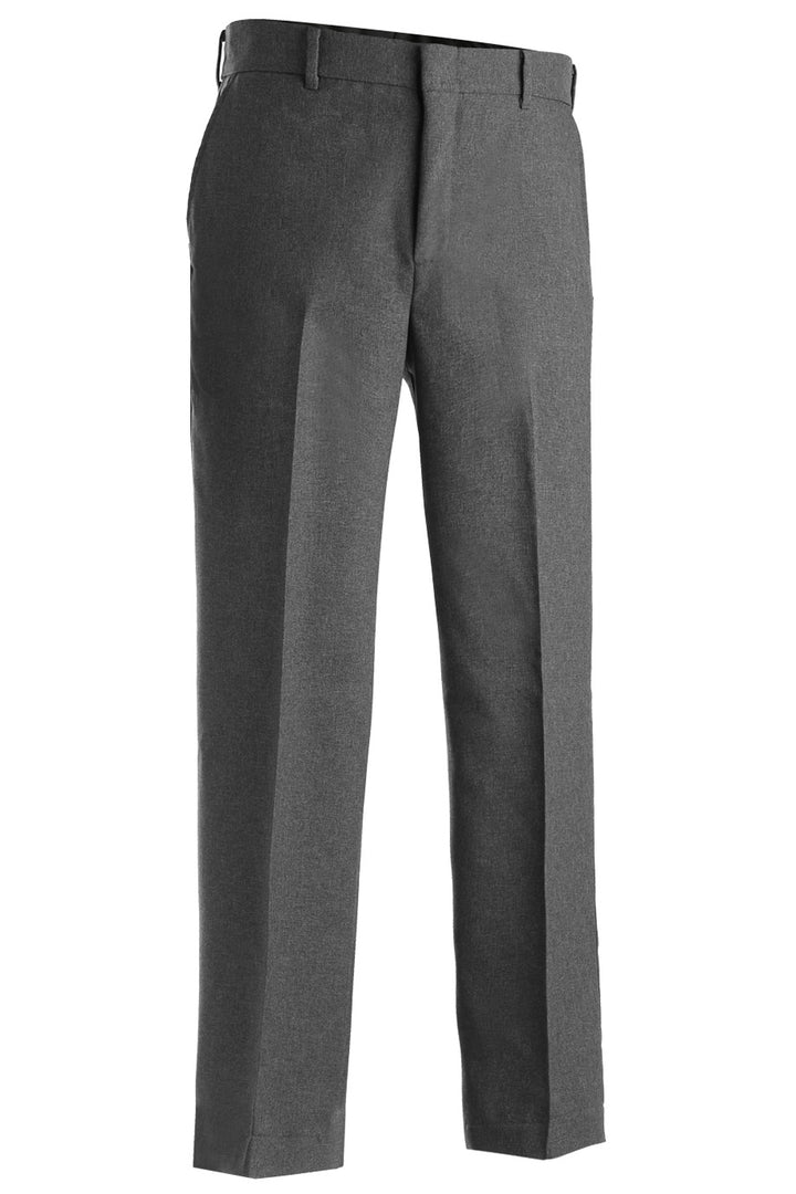 Men's Heather Grey Flat Front Security Pant