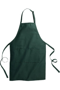 Hunter Green Butcher Apron (2 Pockets)