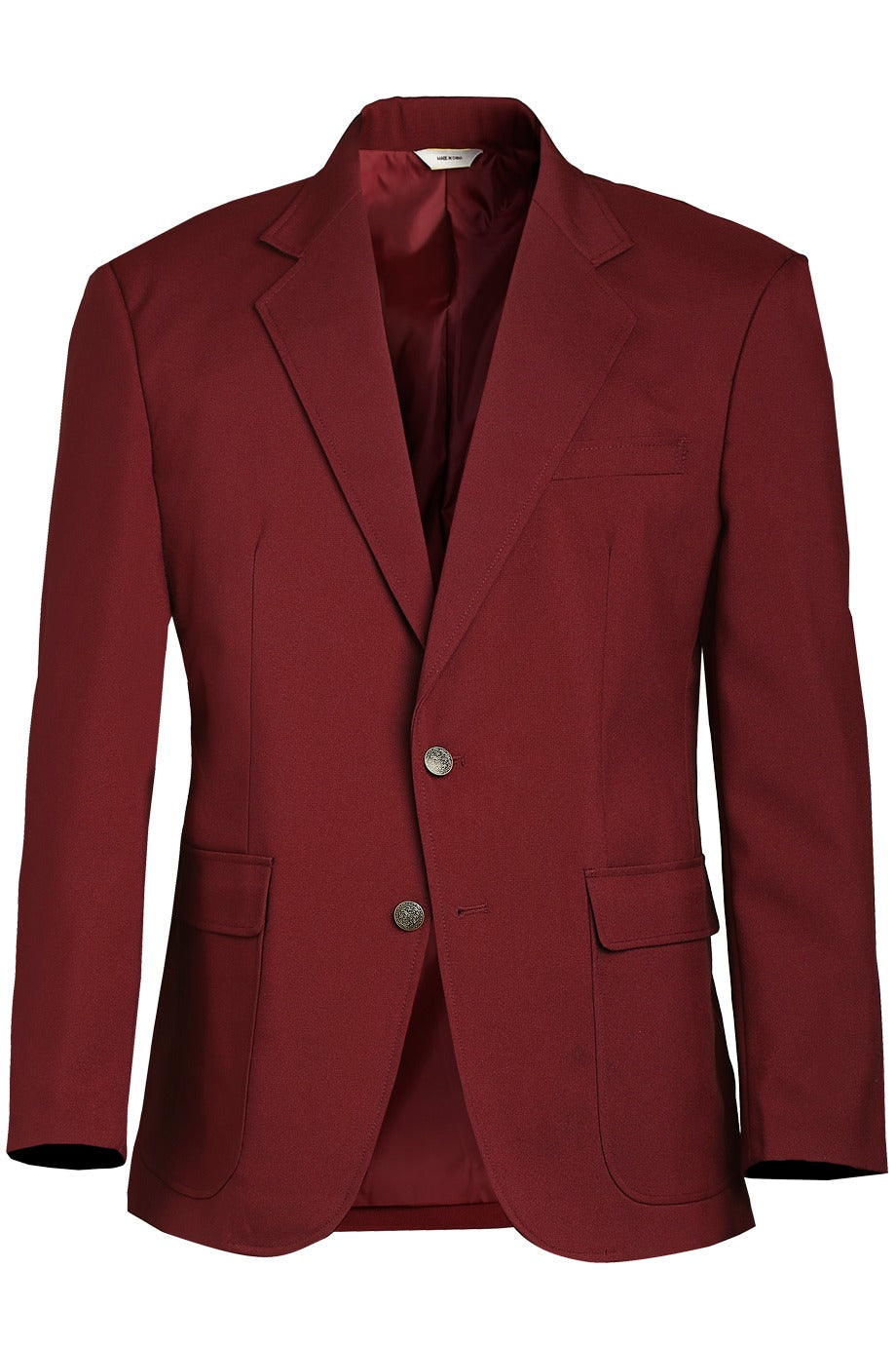 Men's Burgundy Value Blazer