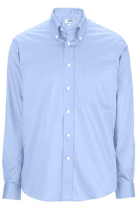 28e91981551 Men s Light Blue Oxford Non-Iron Button Down Collar Dress Shirt –  UniformsInStock.com