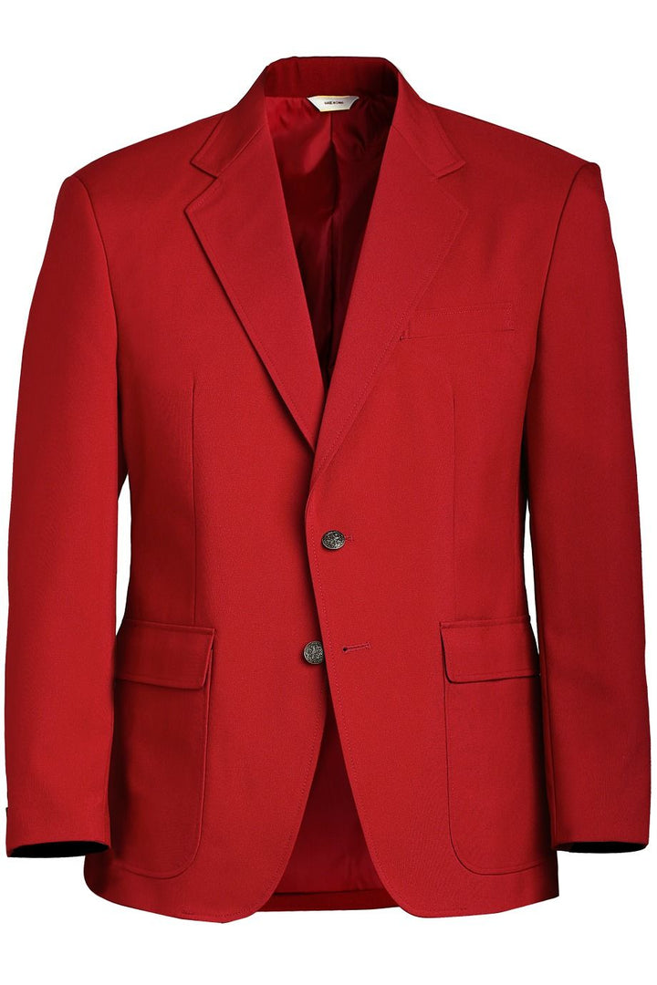 Men's Red Value Blazer