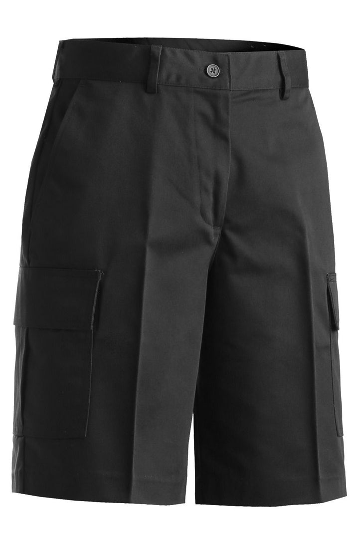 Women's Black Cargo Shorts