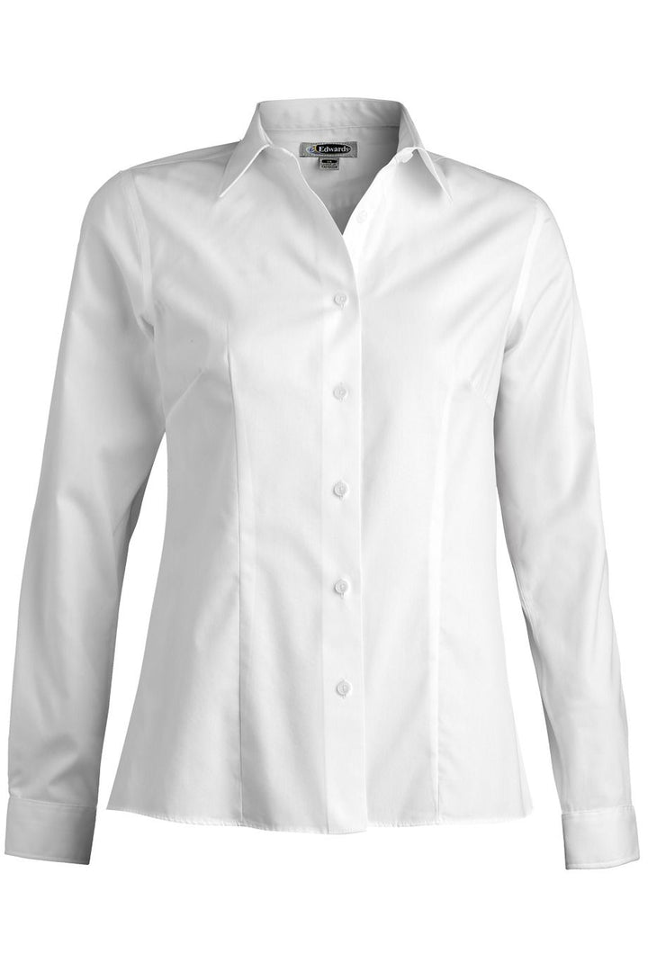 Women's White Dress No-Iron Blouse