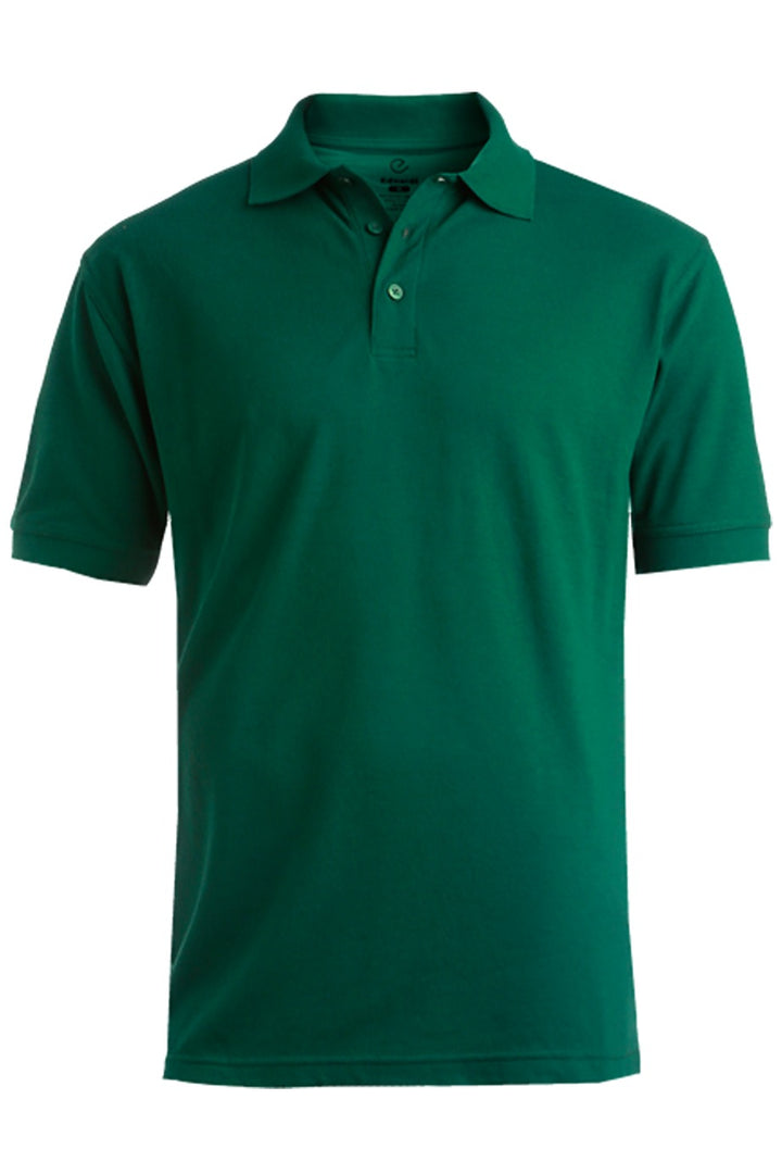 Men's Hunter Green Pique Polo