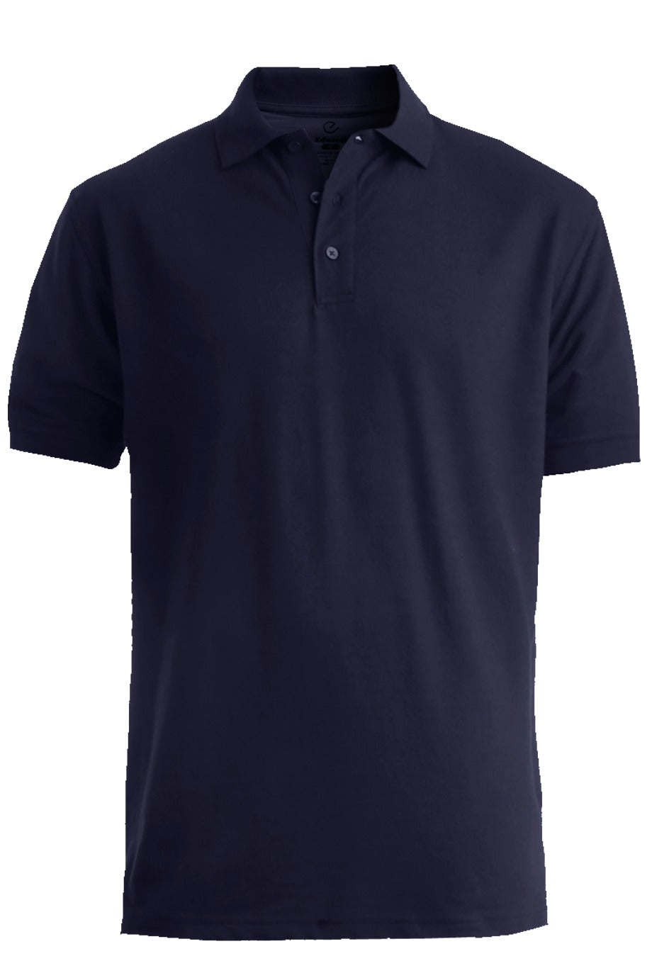 Men's Navy Pique Polo