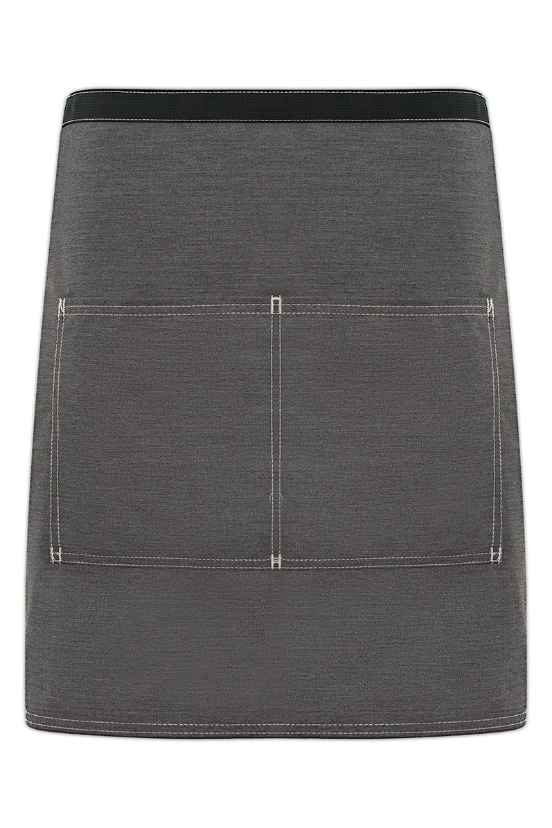 Heather Grey City Market Vintage Half Bistro Apron