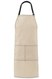 Natural City Market Long Vintage Bib Apron