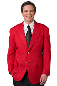 """Winston"" Men's Red Blazer"