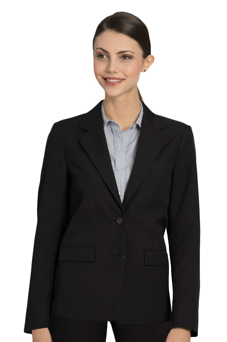Women's Black Ecotex Recycled Polyester Blazer