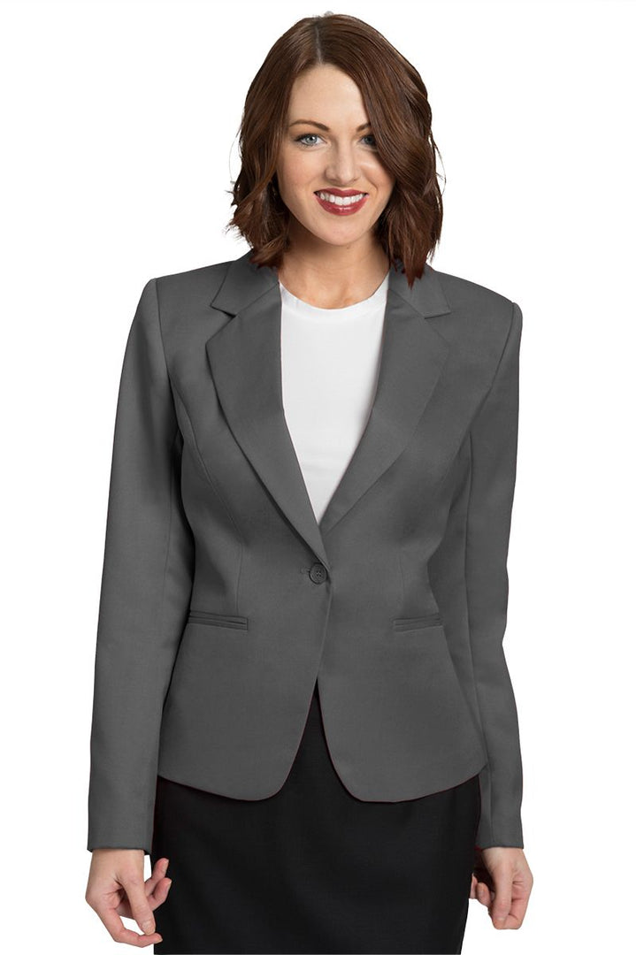 Women's Grey Juliet Cropped Easywear Blazer