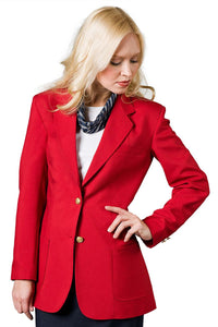 """Isabella"" Women's Red Blazer"