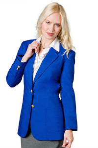 """Isabella"" Women's Royal Blue Blazer"