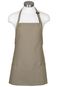 Sage Bib Adjustable Apron (3 Pockets)