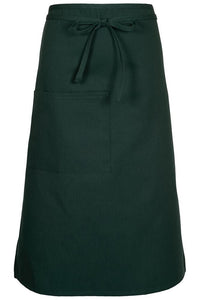 Hunter Green Bistro Apron (1 Pocket w/ Pencil Divide)