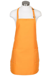Mango Bib Adjustable Apron (2-Patch Pockets)