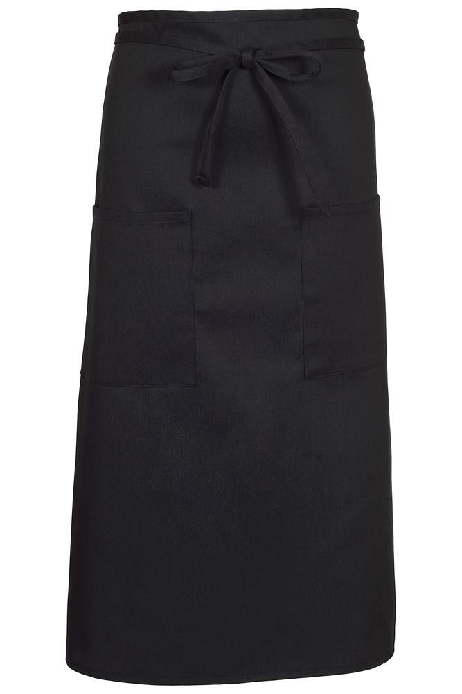 Black Bistro Apron (2 Pockets)