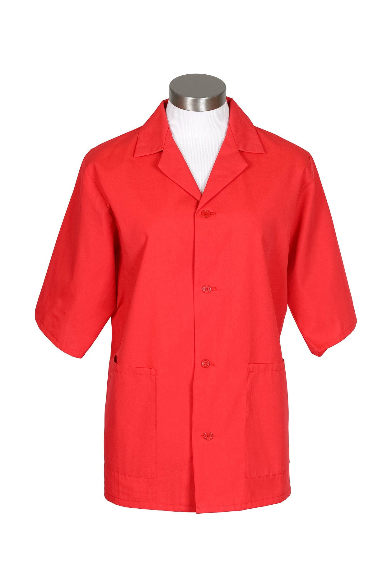 Red Unisex Smock