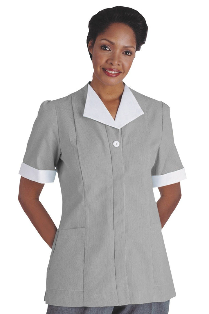 Grey Junior Cord Housekeeping Tunic