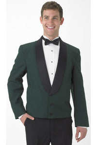 """Holden"" Men's Hunter Green Eton Jacket"