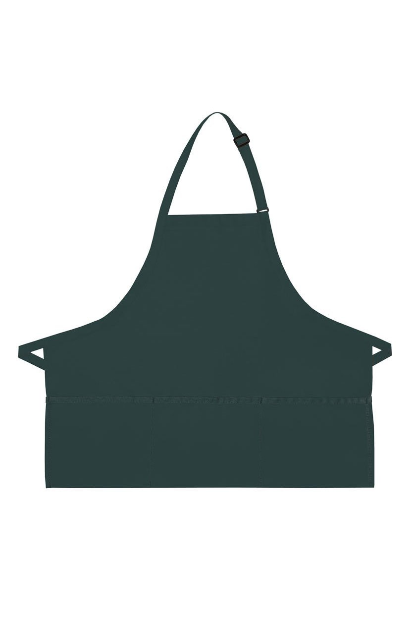 Hunter Deluxe Bib XL Adjustable Apron (3 Pockets)