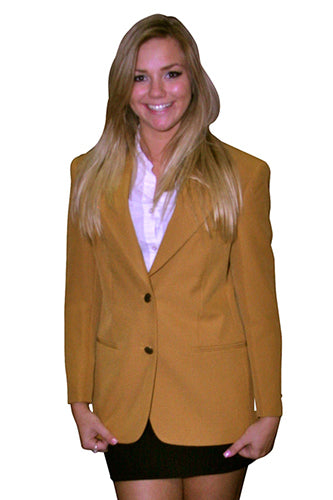 Women's Gold Blazer