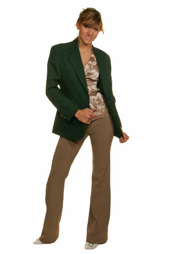 Women's Hunter Green Blazer
