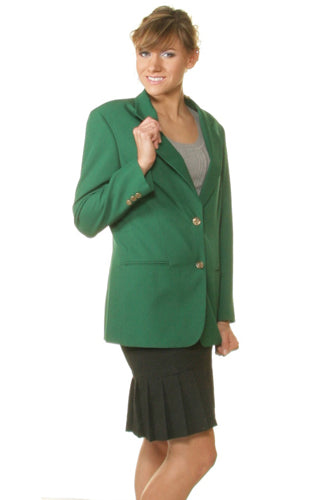 Women's Kelly Green Blazer