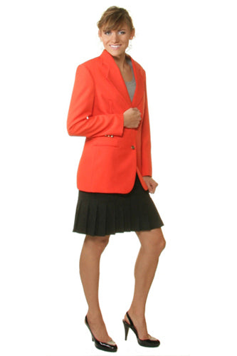 Women's Orange Blazer