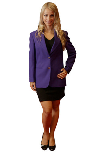 Women's Purple Blazer