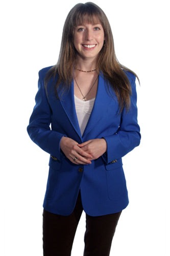 Women's Royal Blue Blazer