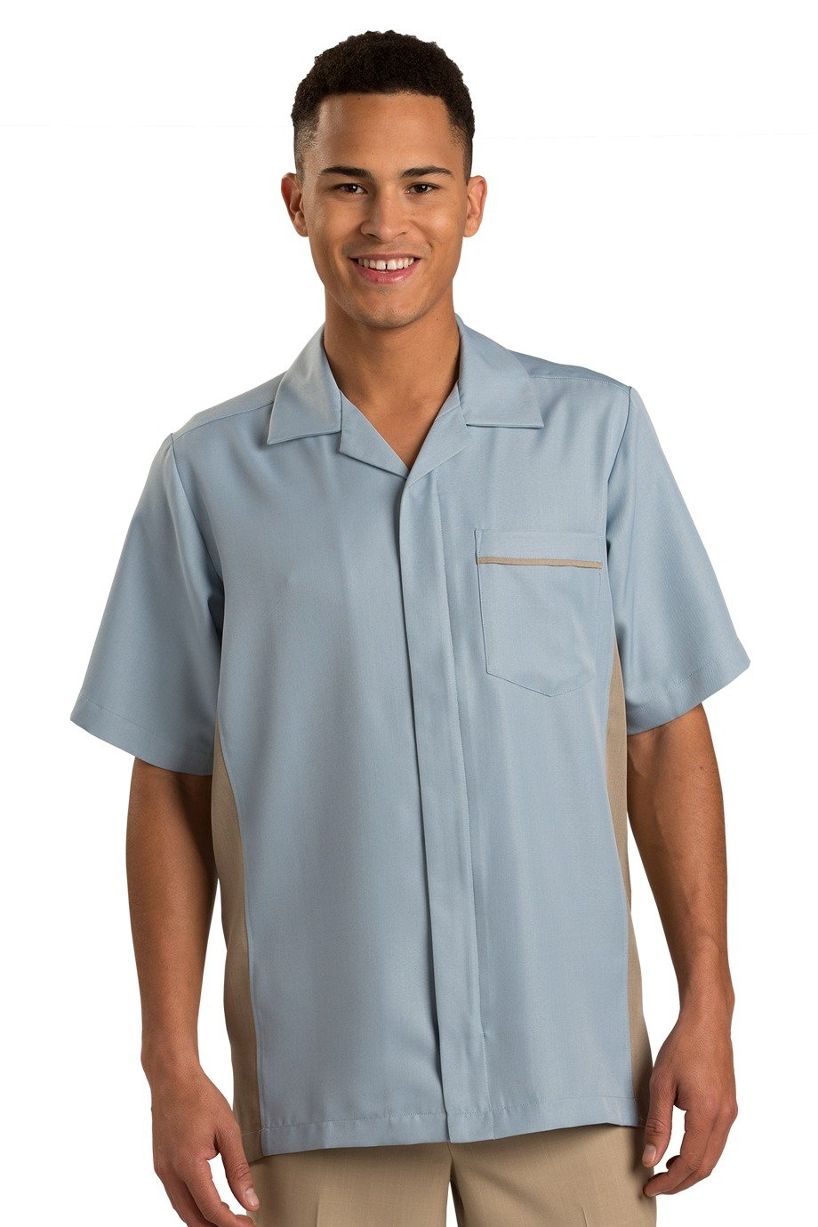 Glacier Blue Premier Men's Housekeeping Service Shirt