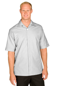 Grey Pincord Men's Housekeeping Service Shirt