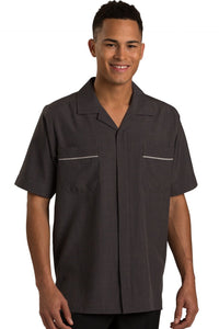 Steel Grey Pinnacle Men's Housekeeping Service Shirt