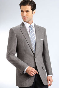 """Oliver"" Men's Grey Blazer"