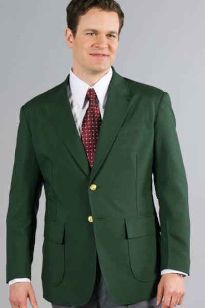 Men's Hunter Green Blazer