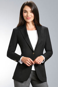 """Veronica"" Women's Black Blazer"